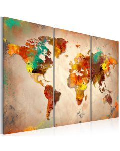 Obraz - Painted World - triptych