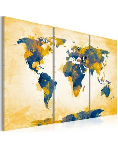 Obraz - Four corners of the World - triptych